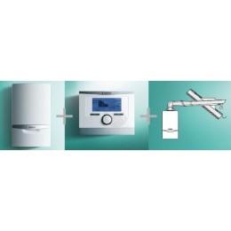 VAILLANT - PAKIET SYSTEMOWY NR 13 - 2 - kocioł  ecoTEC plus VCW  346/5-5 + multiMATIC 700/5 +  podł. poziome