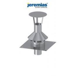 JEREMIAS uniwersalna płyta dachowa fi 110 z wentylacją tylną z daszkiem