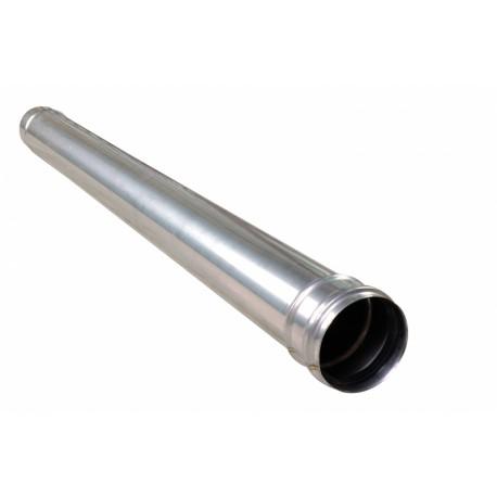 JEREMIAS rura spalinowa jednościenna fi 80 1000 mm