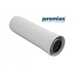 JEREMIAS RURA SPALINOWA fi 60/100 500 mm dwuścienna biała