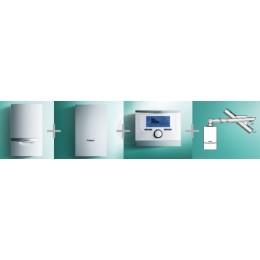 VAILLANT - PAKIET SYSTEMOWY NR 7 - 1 - ecoTEC plus VC 146/5-5 + VIH Q 75B + multiMATIC 700/5+ podł. poziome